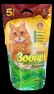 'Zoonik', wood cat litter 5 l /or 20l