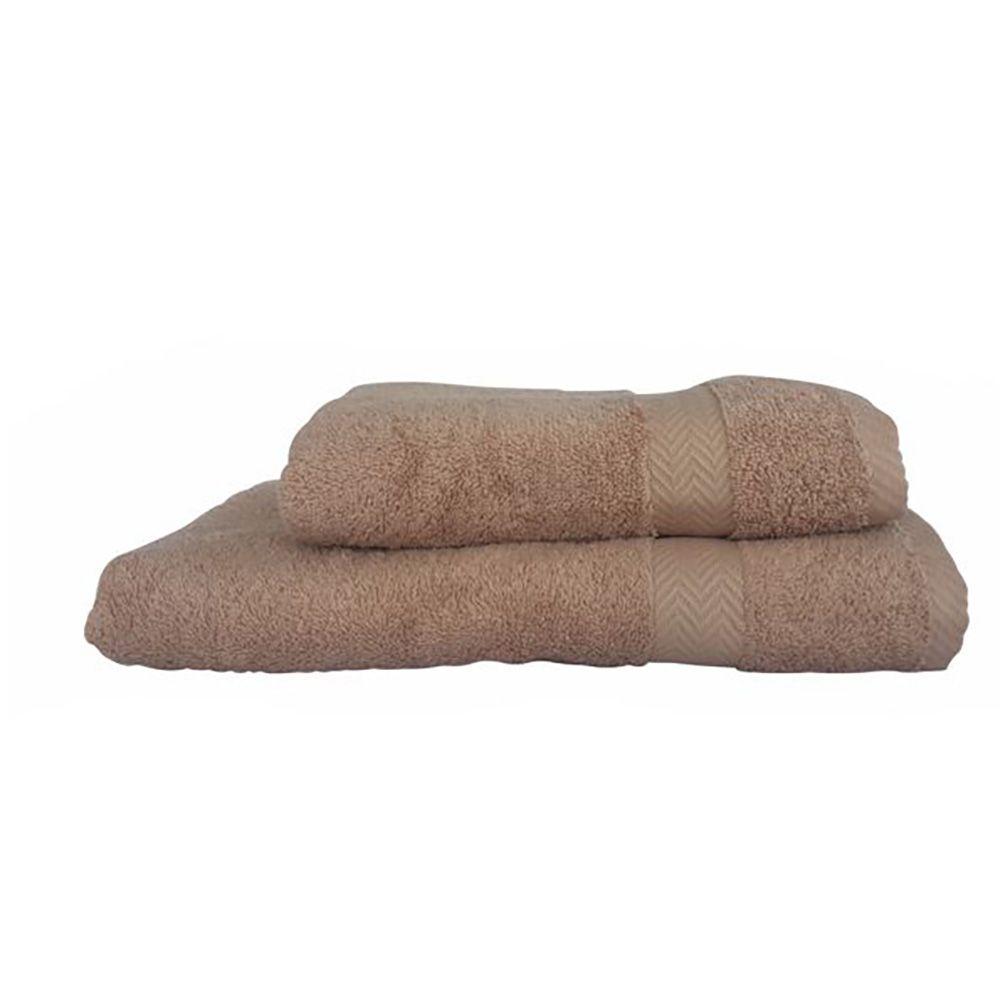 """Towel """"Luxury"""" brown Textil"""