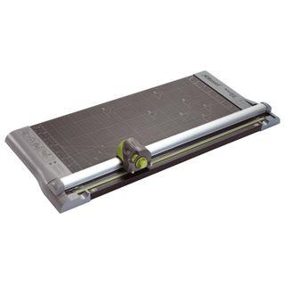 Roller cutter REXEL A445, 10 l, cutting length 473 mm, 4 cutting styles, metal base, A3