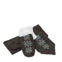 Set of scarves and Lupine mittens