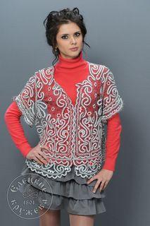 Women's chiffon blouse lace С1801