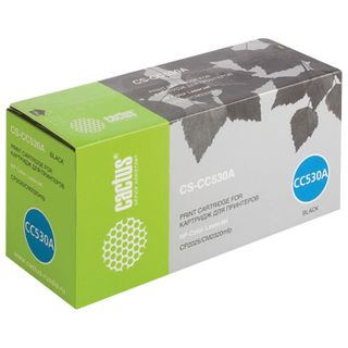 Toner cartridge CACTUS (CS-CC530A) for HP ColorLaserJet CP2025 / CM2320, black, yield 3500 pages.