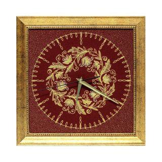 Baroque panel clock