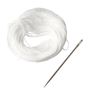 STAFF / Set for sewing documents (needle 80 mm, thread 30 m), blister
