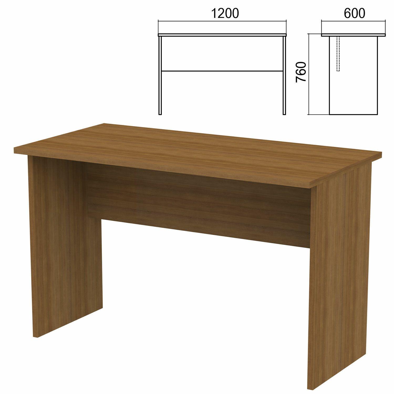 "Table written ""Argo,"" 1200 x600 x760 mm, walnut"