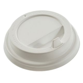FORMATION / Disposable lids for glass 250 ml (d-80), KIT 100 pcs., Spout valve, white