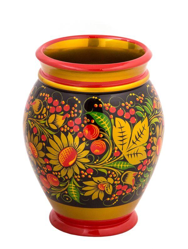 Vase with Khokhloma painting 170*130