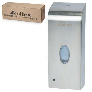 KSITEX / Liquid soap dispenser SENSOR 1 liter, FILLER, stainless steel