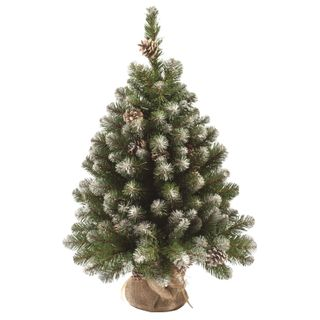 "KING FIR-tree / Artificial spruce ""Imperial snow-covered"", 90 cm, green"