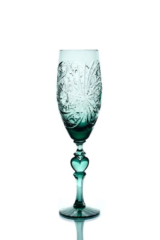 """Set of crystal glasses """"Recognition"""" herbal 2 pieces"""