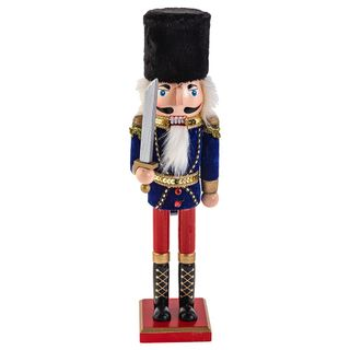 "Wooden figurine ""Nutcracker Mouse king"" 38 cm"