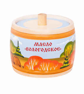 OIL CREAM VOLOGDA IN SOUVENIR PACKAGING