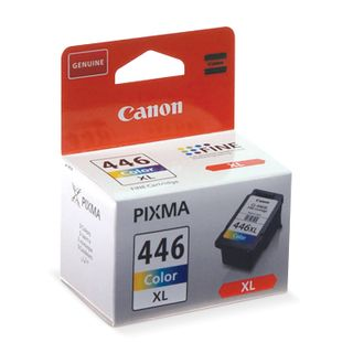Inkjet cartridge CANON (CL-446XL) PIXMA MG2440 / PIXMA MG2540, color, original, yield 300 pages, high yield