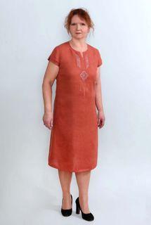 Dress womens linen 9-269