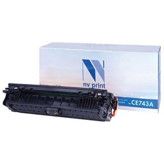 Magenta Toner Cartridge NV PRINT (NV-CE743A) for HP CP5220 / CP5225 / CP5225dn / CP5225n, yield 7300 pages