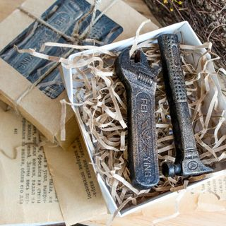 Tools 2 in 1 - a set of handmade soap for men
