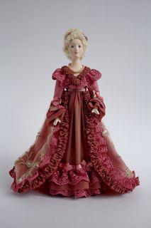 Doll gift porcelain. Josephine.