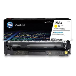 HP Color LaserJet M182n / M183fw Yellow Toner Cartridge (W2412A) 216A, Yield 850 pages