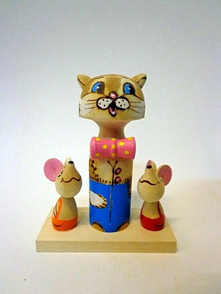 "Tver souvenirs / Fairy-tale characters ""Leopold the Cat"""