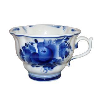 Cup Orchid 1st grade, Gzhel Porcelain factory