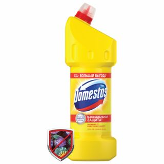 """DOMESTOS cleaner (Domestos) """"Lemon freshness"""" with a whitening effect 1.5 l"""