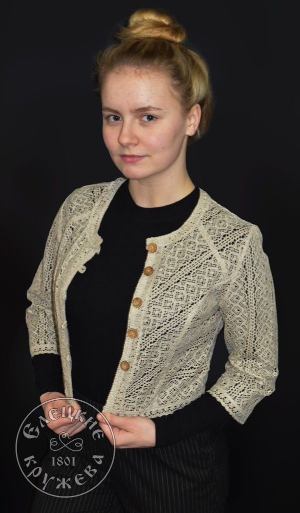 Yelets lace / Women's lace jacket С431