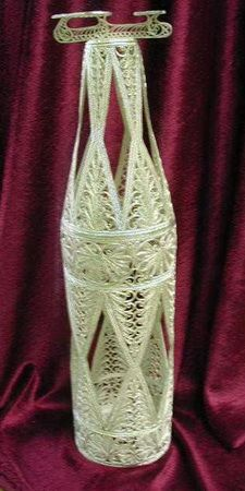 "Kazakov Filigree / Souvenir ""Bottle"" silvering"