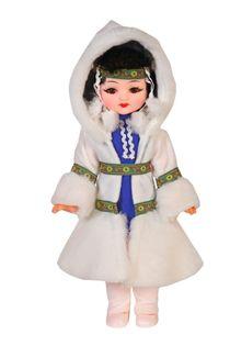 Doll Yakutyanka in a box, 45 cm