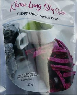 Crispy Dried Sweet Potato (Purple color)