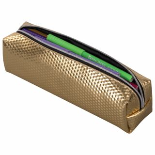 Pencil case-cosmetic bag BRAUBERG, glossy, soft,