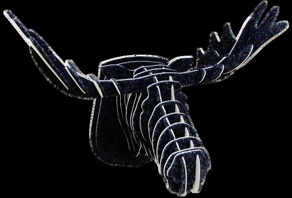 3D figure - Elk Head KV Black