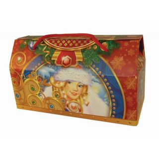 """New Year's gift Sacvoyage """"Frost and Snow Maiden"""", a set of chocolates 750g."""