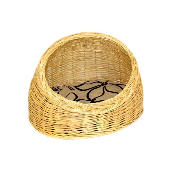 """Azimuth / Wicker house for cats """"Oval"""" No. 2, 470x380 mm"""
