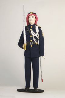 Doll gift. Guard. Arab. Saudi Arabia