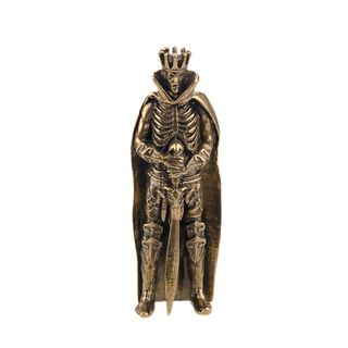 """A statuette """"skeleton with sword"""""""