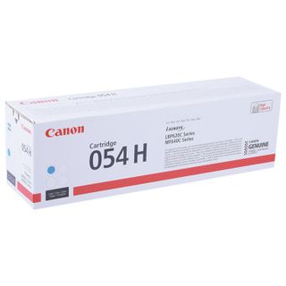 Laser cartridge CANON (054HC) for i-SENSYS LBP621Cw / MF641Cw / 645Cx, cyan, yield 2300 pages, original