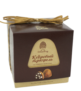 Assorted dark chocolate cedar truffle 120 g