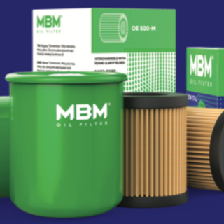 MBM oil filter for cars