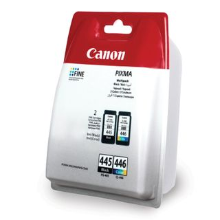 Inkjet cartridge CANON (PG-445 / CL-446) PIXMA MG2440 / MG2540, kit, original, 2 colors, 180 pages