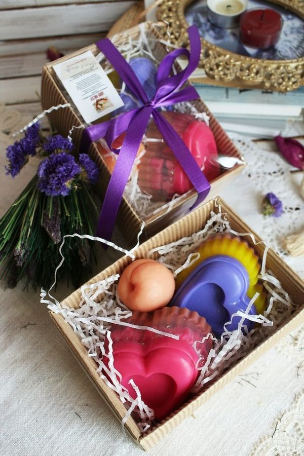Love Story - Handmade Soap Set