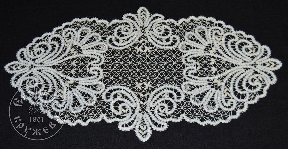 Yelets lace / Lace napkin С680