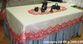 Tablecloth openwork rectangular Karelian patterns - view 1