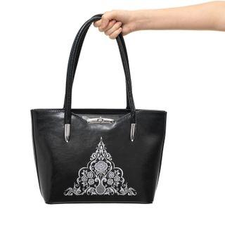 Eco-leather Rose Bag