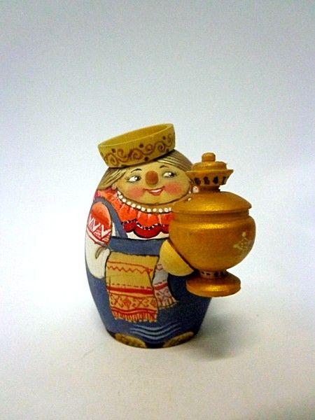 "Tver souvenirs / Casket ""Tea-girl"""