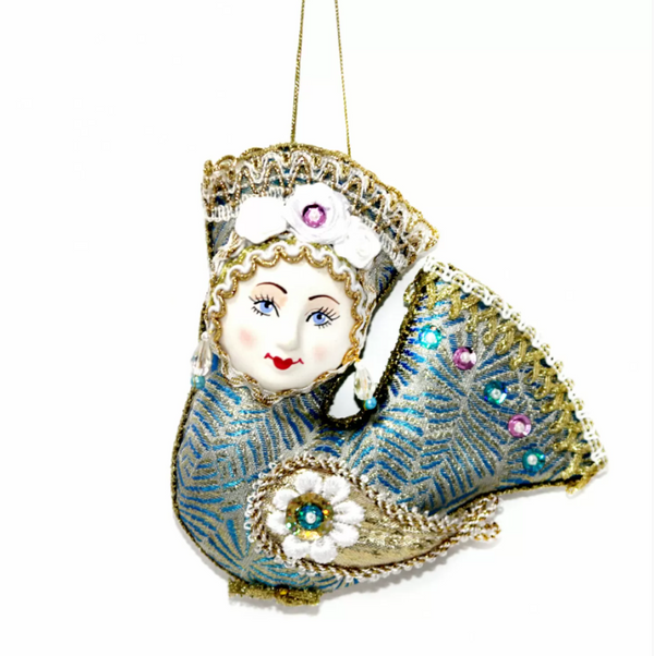 Matryoshka Factory / Christmas tree decoration Bird of Happiness, 13 cm