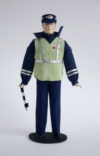 Doll gift. The policeman 1990