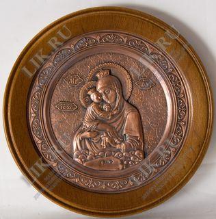Panel Image of the Blessed Virgin of Pochaev