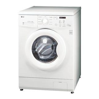 LG FH0C3ND washing machine, 1000 rpm, 6 kg, front loading, 9 programs, 60 x44 x85 cm, white