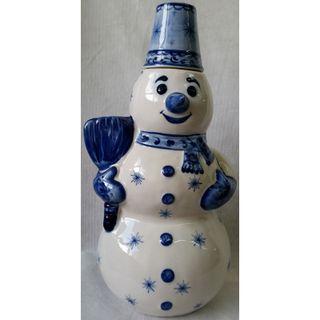 """Damask """"Snowman"""" Gzhel 2.5 l"""