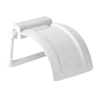 IDEA / Toilet roll holder, plastic, marble / white